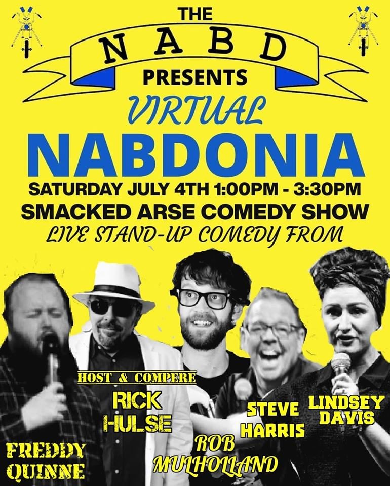 Virtual Nabdonia Smacked Arse Comedy Show